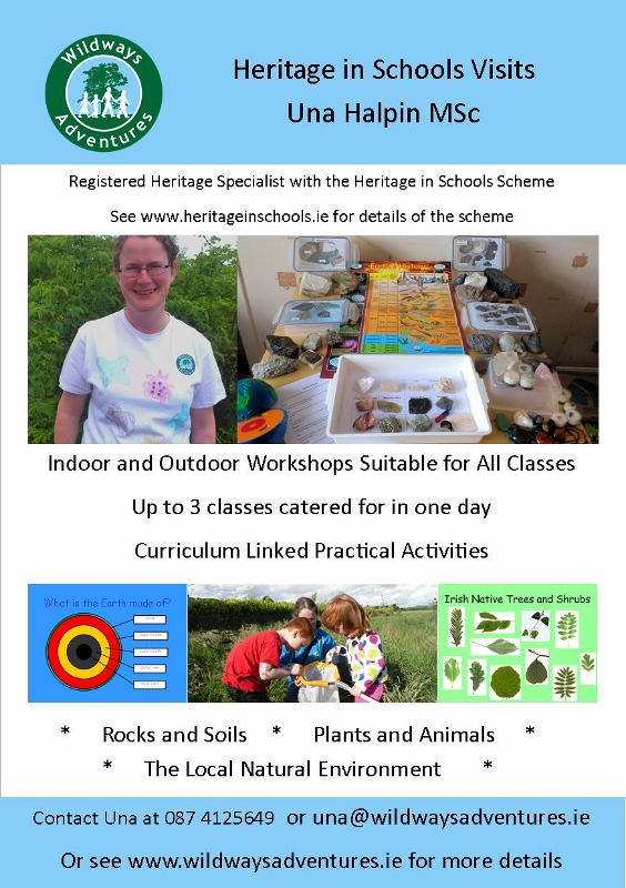 Heritage in Schools Wildways Adventures