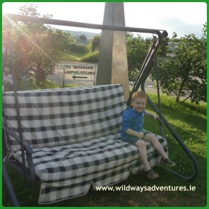 Family Camping in Ireland