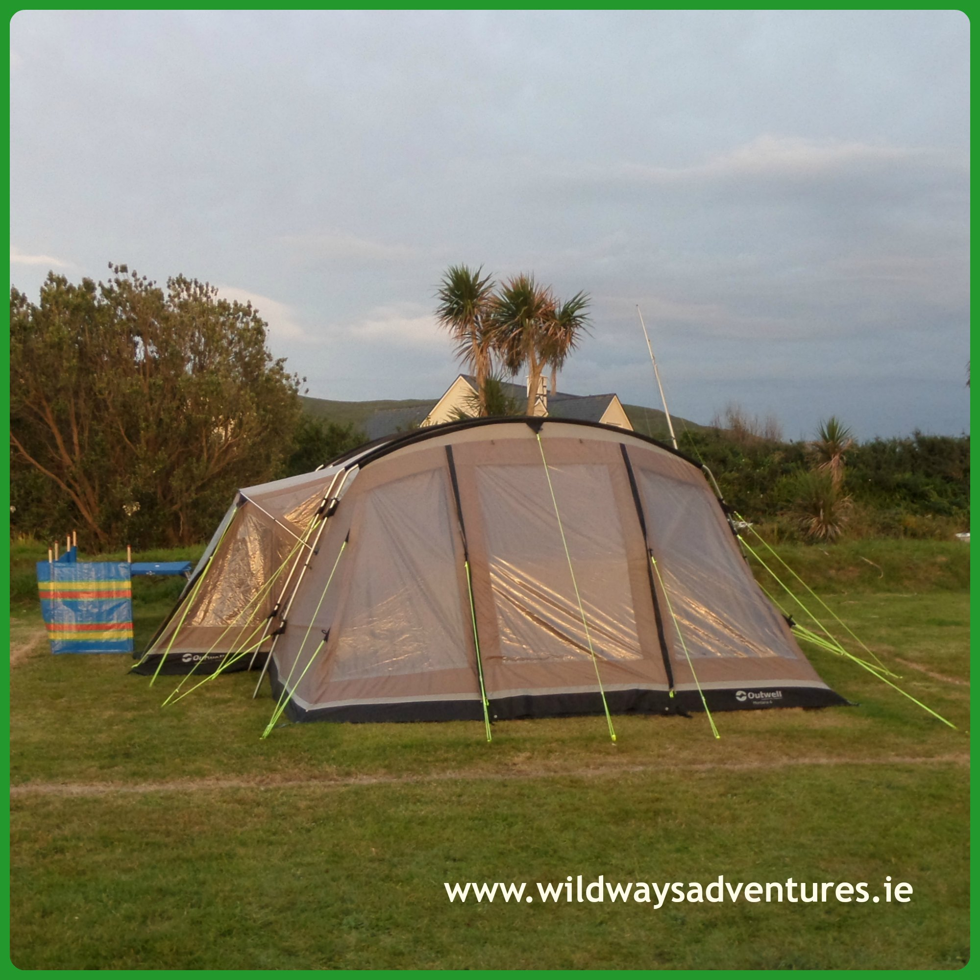 Family Tent & 5 Reasons - Family Camping in Ireland | Wildways Adventures